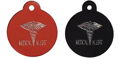 medical alert pet tags diabetic